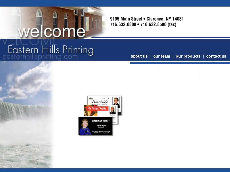 Eastern Hills Printing Welcome